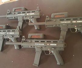 כלי הנשק במשחק לייזר טאג